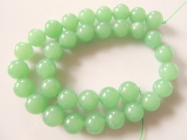 Jade mintgroen ronde kraal 12 mm