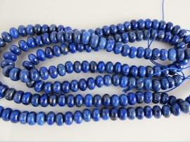 Lapis Lazuli kraal rondel 4x7 mm