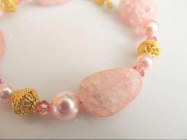 "Armband ""Rosaline Pink"""