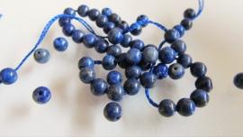 Lapis lazuli kraal rond 4 mm