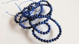 Lapis Lazuli kraal rond 4.3-4.6 mm