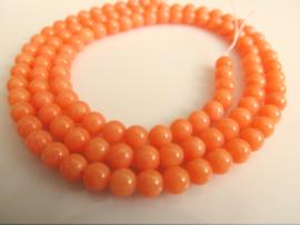 Koraal oranje rond 4 mm