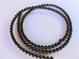 Onyx kraal rond 3-3.2 mm