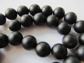 Onyx ronde kraal mat 10-10.5 mm