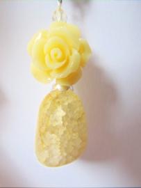 """Hanger """"Yellow Mountain Rose"""""""
