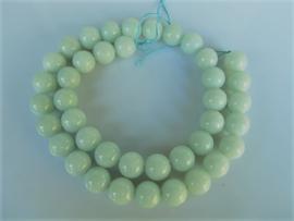 Amazoniet ronde kraal blauw-groen 10 mm