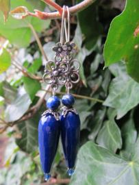 """Oorbellen """"Blue Ivy"""""""
