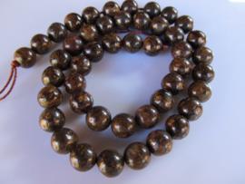 Bronziet ronde kraal 8.5-8.7 mm