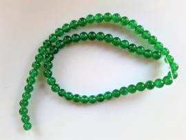 Onyx groen kraal rond 6.2-6.3 mm
