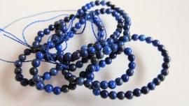 Lapis Lazuli kraaltje 2.2-2.6 mm