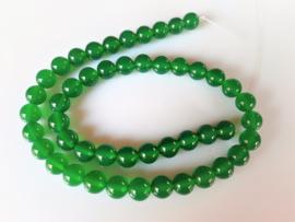 Onyx kraal groen rond 8-8.2 mm