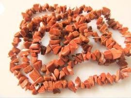 Goudsteen kraal split 4-8 mm