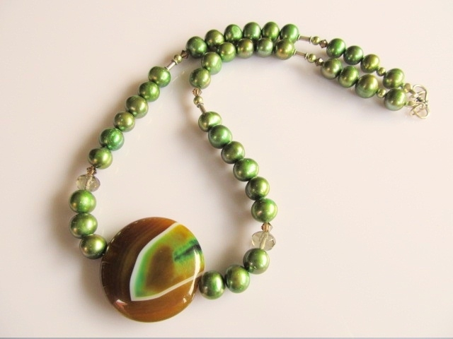 """Ketting """"Oil Olive"""""""