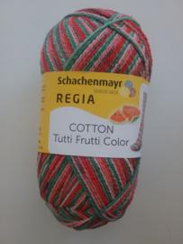 Regia Cotton Tutti Frutti Color ~ meloen - 2421