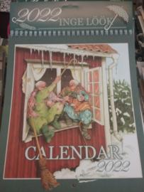 Inge löök  ~ kalender 2022  *NIEUW BINNEN *