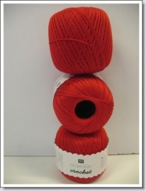 Essentials Crochet ~ rood ~ 04