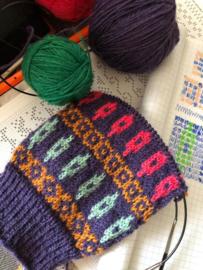 FairIsle  sokkenbreicursus ~ gevorderden .  16 januari 2020