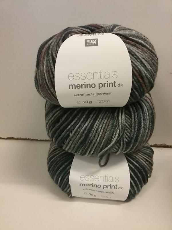 Essentials Merino Print dk 005