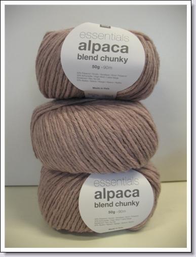Alpaca blend chunky 383.158.009