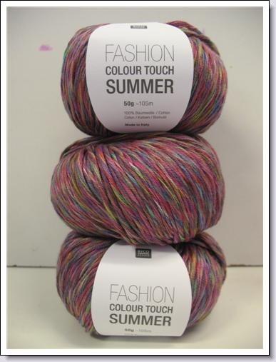 Katoen ~ Fashion Colour Touch Summer