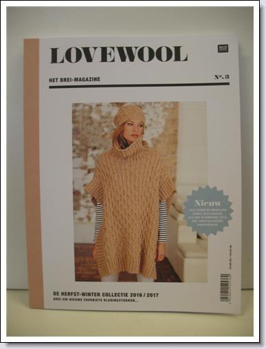 Patroonboek Rico Design Love Wool nr. 03