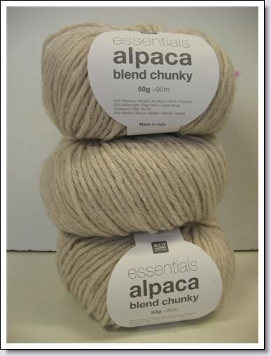 Alpaca blend chunky  383.158.002