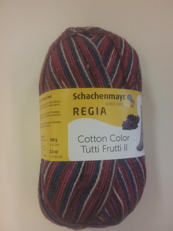 Regia Cotton Tutti Frutti Color ll - Druif - 2423 *nieuw*
