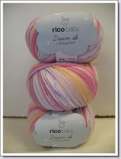 Rico Baby Wol.Rico Baby Dream Dk 383 194 002 Rico Design Rico Baby