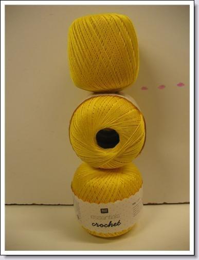 Essentials Crochet ~ geel ~13