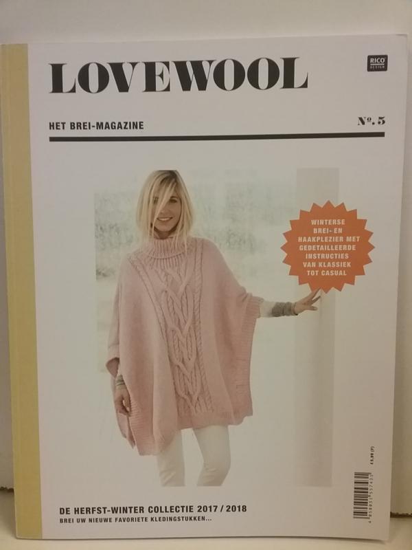 Patroonboekb Rico Design Love Wool 05