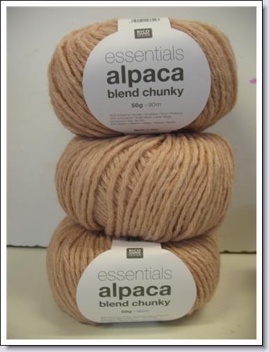 Alpaca blend chunky 383.158.004