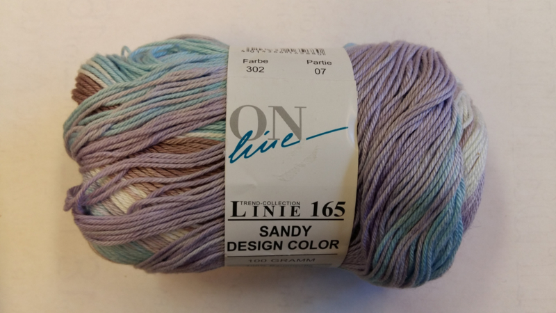 Sandy Design Color , Linie 165 - Online  . 302