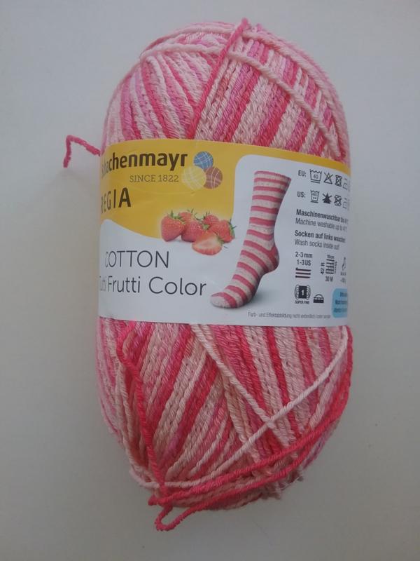 Regia Cotton Tutti Frutti Color aardbei - 2420