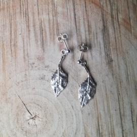 Silver pendant oak - ZIlveren hanger eik (Ha13)