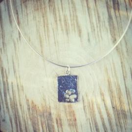 Pendant silver dog paw - hanger zilveren hondenpoot