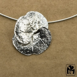 Silver pendant Ceropegia - Zilveren hanger Ceropegia (Ha8)