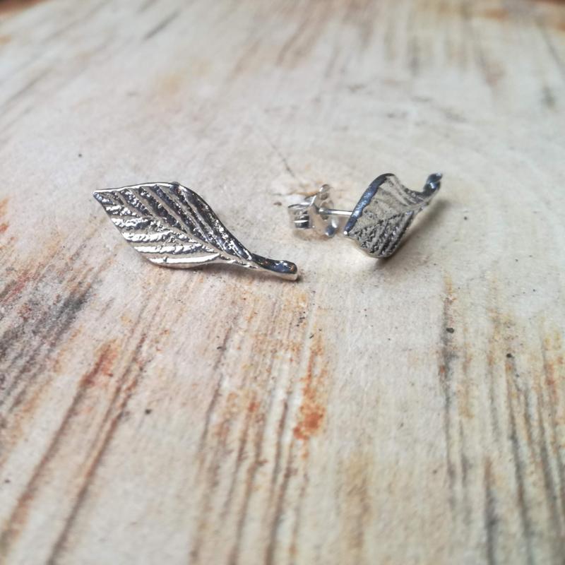 Silver earrings pilania - Zilveren oorbellen pilania (N4)