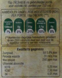 T/M 20-12-19 Latzimas griekse biologische olijfolie extra vierge in 5 liter blik+ olijfoliekannetje van roestvrijstaal, 11,5 cm hoog