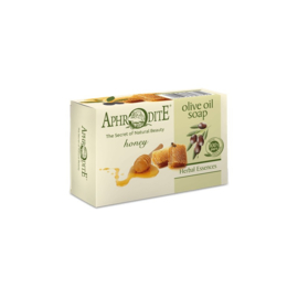 Aphrodite 100% natuurlijke olijfolie zeep met honing