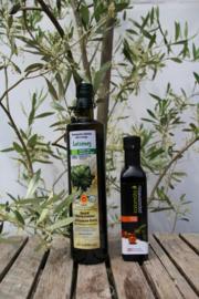 T/M 31-12-19 Biologische olijfolie 750ml & Biologische balsamico kalamata azijn 250 ml
