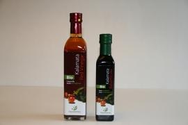 Biolgische rode kalamata wijnazijn 500 ml