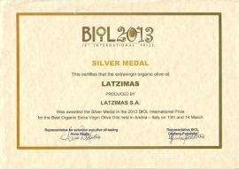 Latzimas biologische olijfolie 250 ml extra vierge