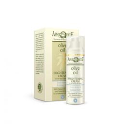 Aphrodite brightening dagcreme zonder parabenen, helpt om op natuurlijke  wijze donkere vlekken en verkleuring van de huid te vermindren