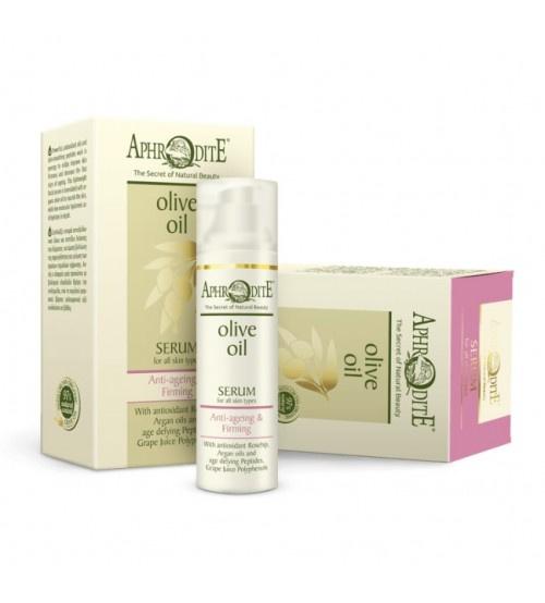 Aphrodite anti-ageing & firming serum zonder parabenen