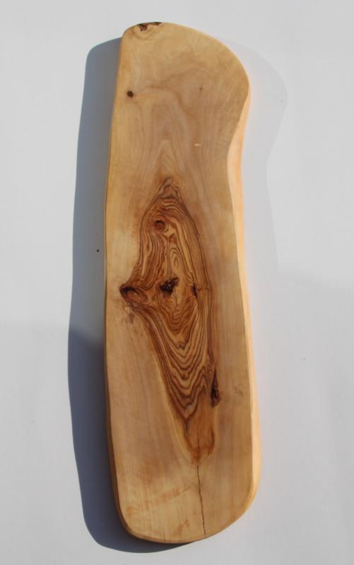 olijfhouten borrel/tapas plank 55x14cm Nr6
