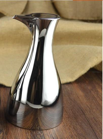 luxe rvs olijfolie schenkkan, inhoud 0,5 liter Nr 3