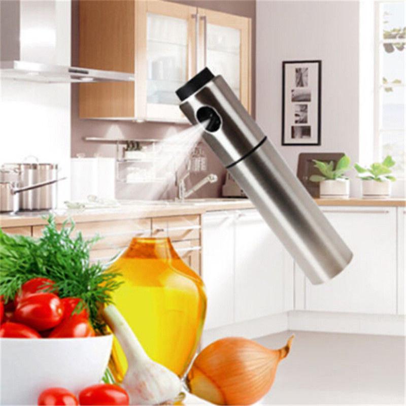 RVS pompspray voor olijfolie of azijn