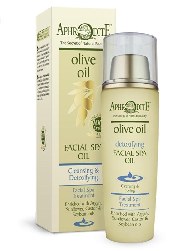 Aphrodite Facial Spa Oil, zonder parabenen