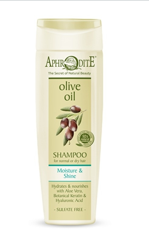 Aphrodite Shampoo, moisture and shine