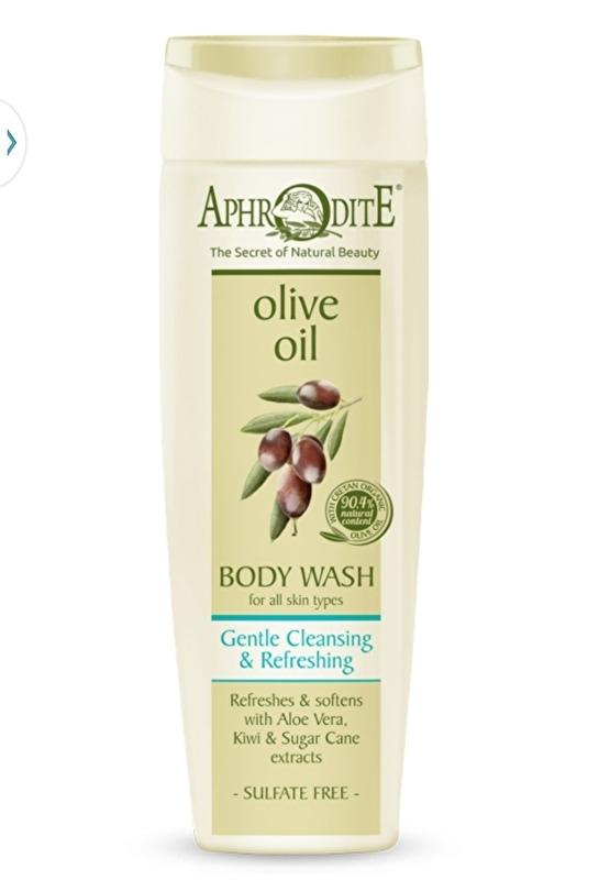 Aphrodite Bad- en douchegel, olijfolie en aloe vera